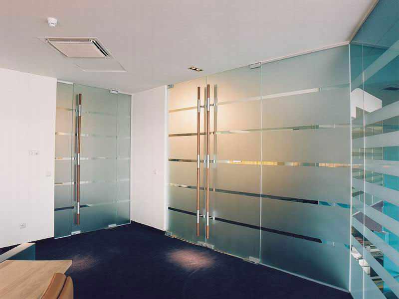 decorative window film offices