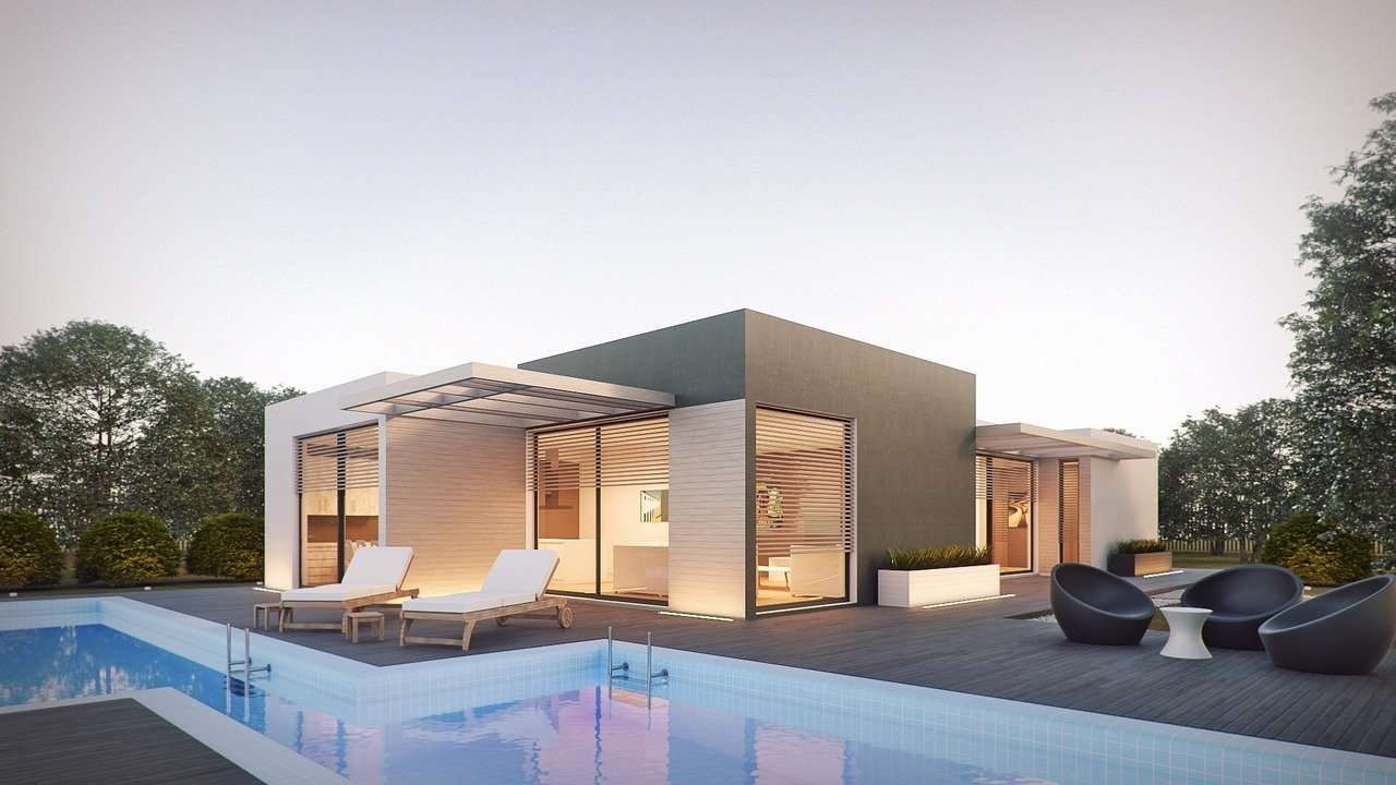 architecture, render, external